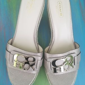 Coach - NWOT Carlana Wedge Sandals/size US 8.5